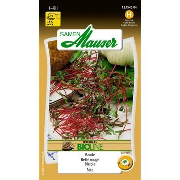 Germes de betteraves à salade BIO (12754004) (Semence)