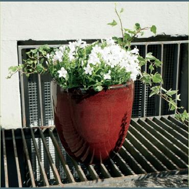 Pot Veras 86202.4.20 rouge fleurir