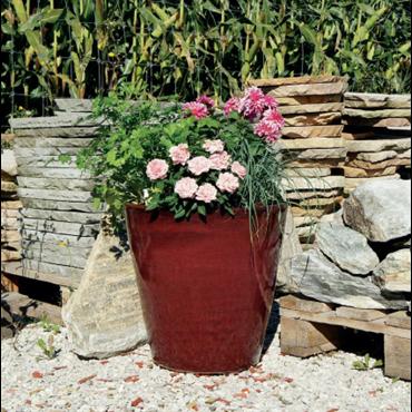 Pot Konan 86203.4.20 rouge fleurir
