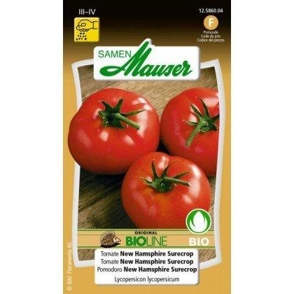 Knospe Bio Tomate New Hamsphire Surecrop (12586004)(Samen)