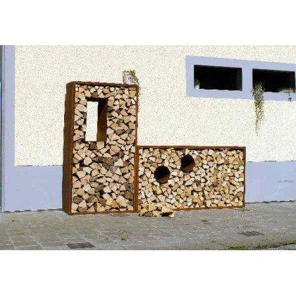 Etagère pour bois de cheminée