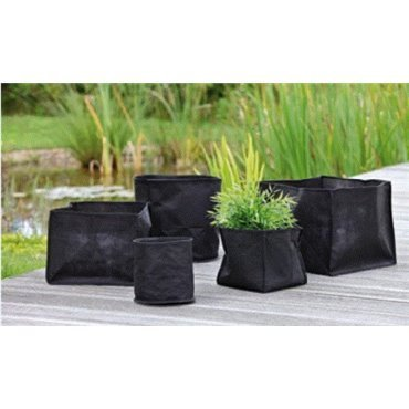 Paniers à plantes textiles