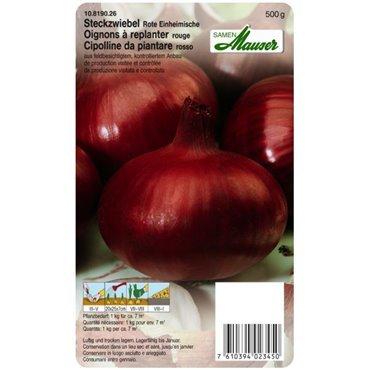 Steckzwiebeln Rote Einheimische (10819026)(Samen)