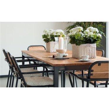 Tisch und Armlehnenstuhl «Sea Breeze»