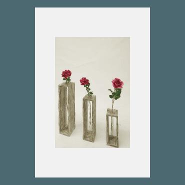 Rahmen mit Glasvaseneinsatz (1907.896)