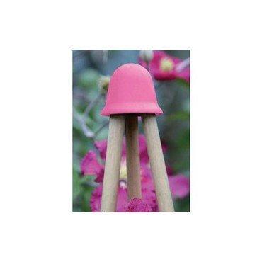 Chapeau pour les tuteurs, rose fuchsia