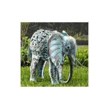 Solar-Silhouette Lampe Elefant (30136502)