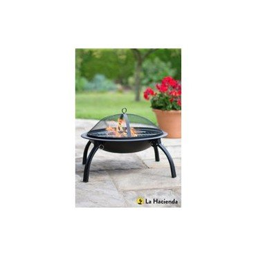 Vasque à feu avec grille (30176501)