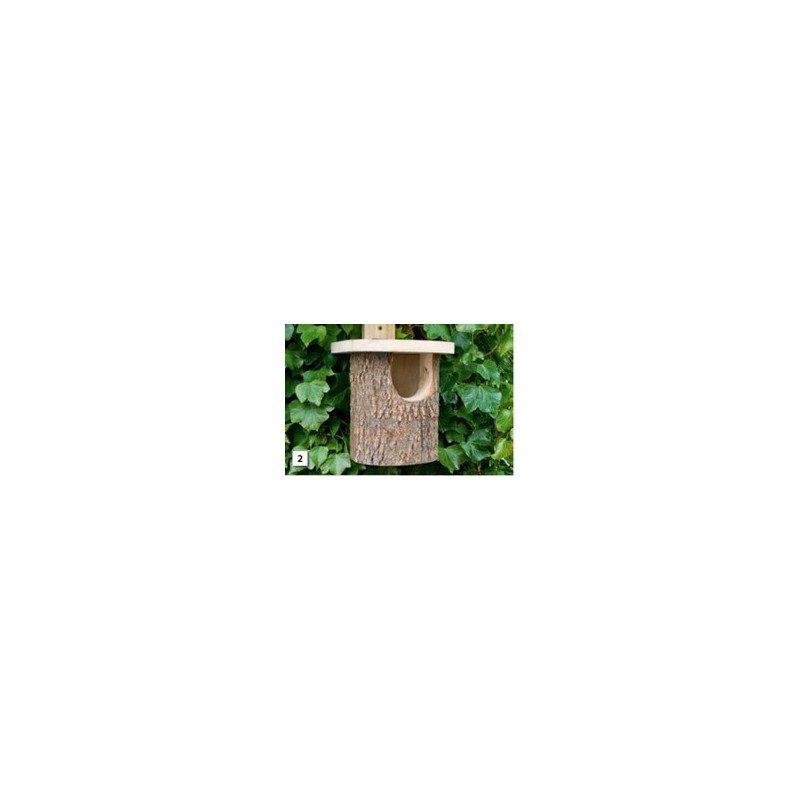 Nichoir en bouleau pour rouge-gorge (1300.099)