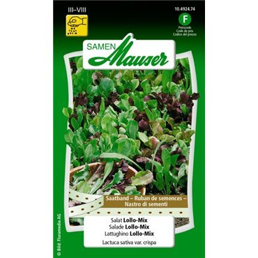Salat Lollo-Mix 10492474 (Samen)