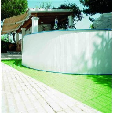 Tapis de sol vert (polyéthylène)