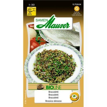 Germes de graines Broccoletti bio (12752804)(Semence)
