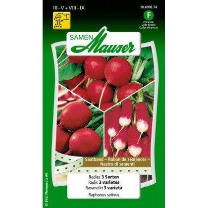 Radis 3 variétés (10409874)(Semence)