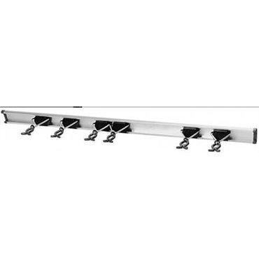 Porte-Outils avec rail 6 pcs Bruns (4177622)